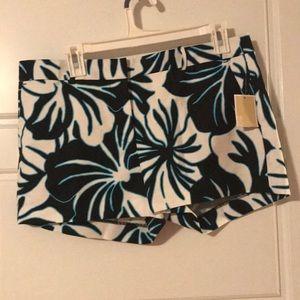 NWT Michael Kors Floral Shorts